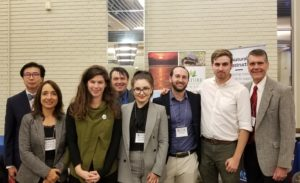 Gwen Gell and other participants at the 2019 Straits Conference.