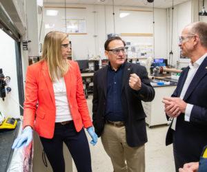 Stronger, stiffer, greener: Carbon-negative natural-fiber composites