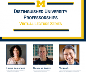 GCI faculty members take part in Distinguished Lecture Series